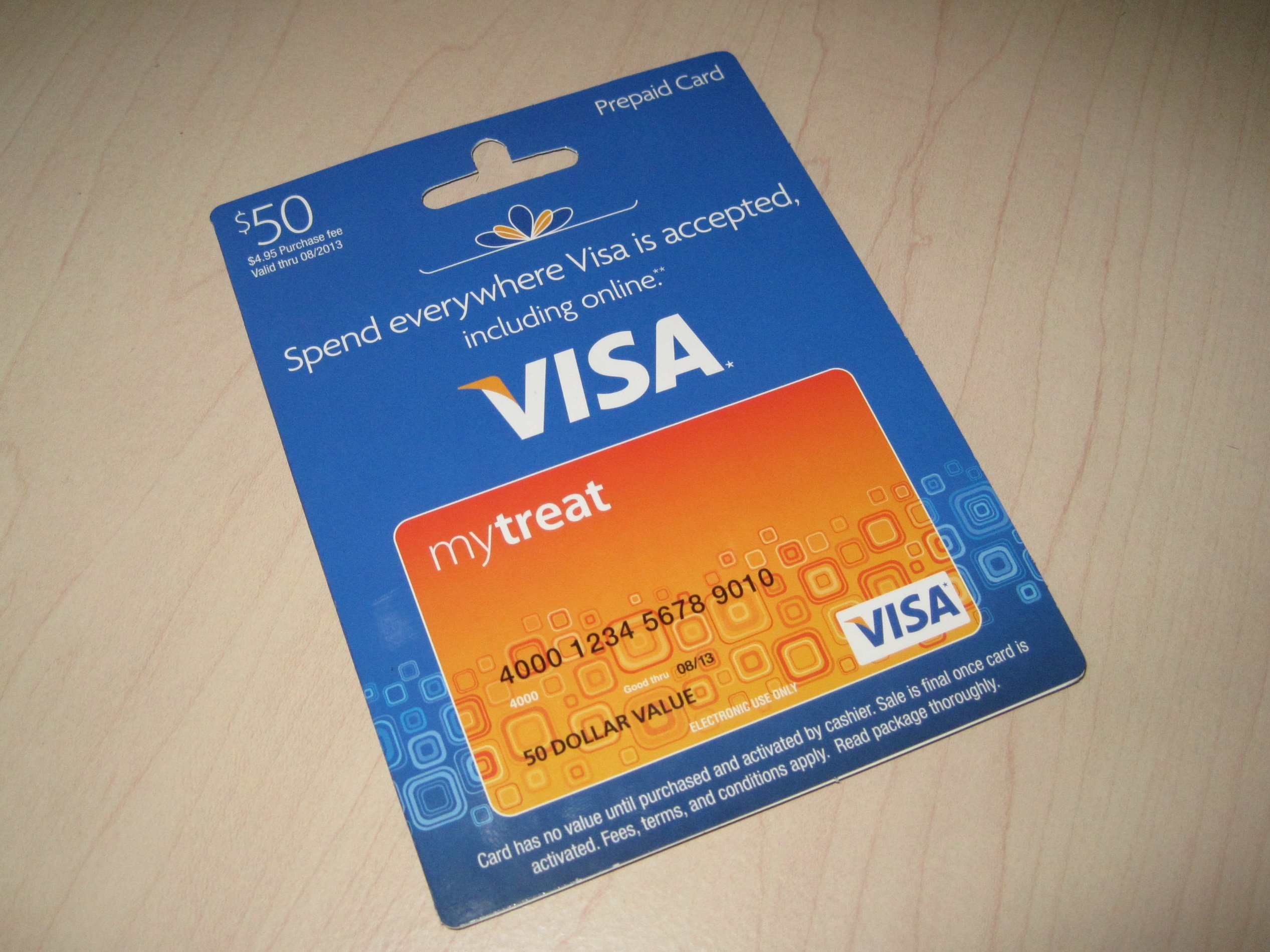 Can i buy a Visa gift card with a credit card