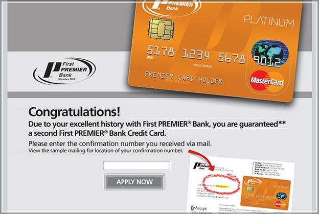 First Premier Bank My Second Card
